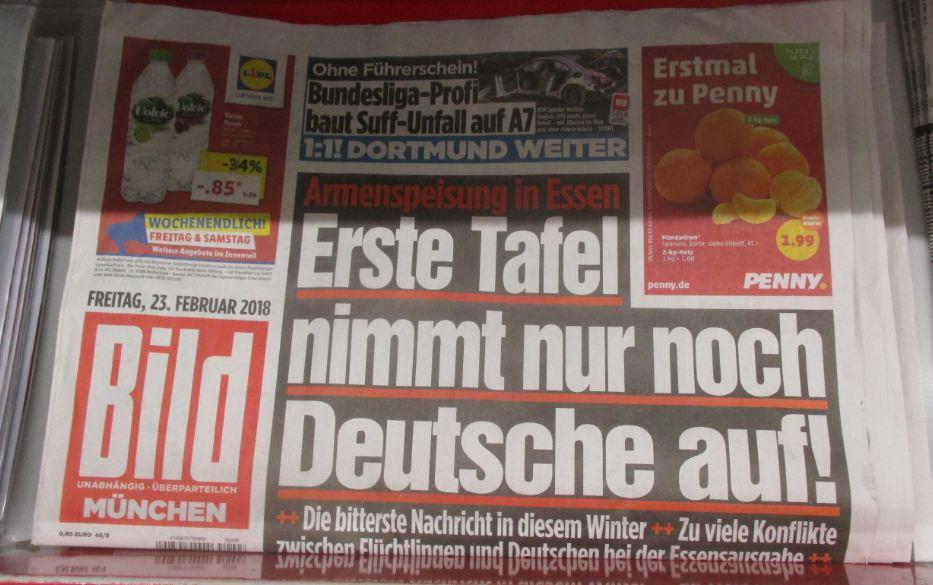 Essen: Tafel nur für Deutsche