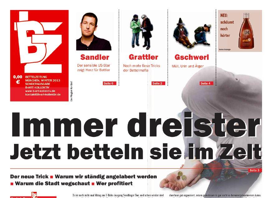 Bettlerzeitung München