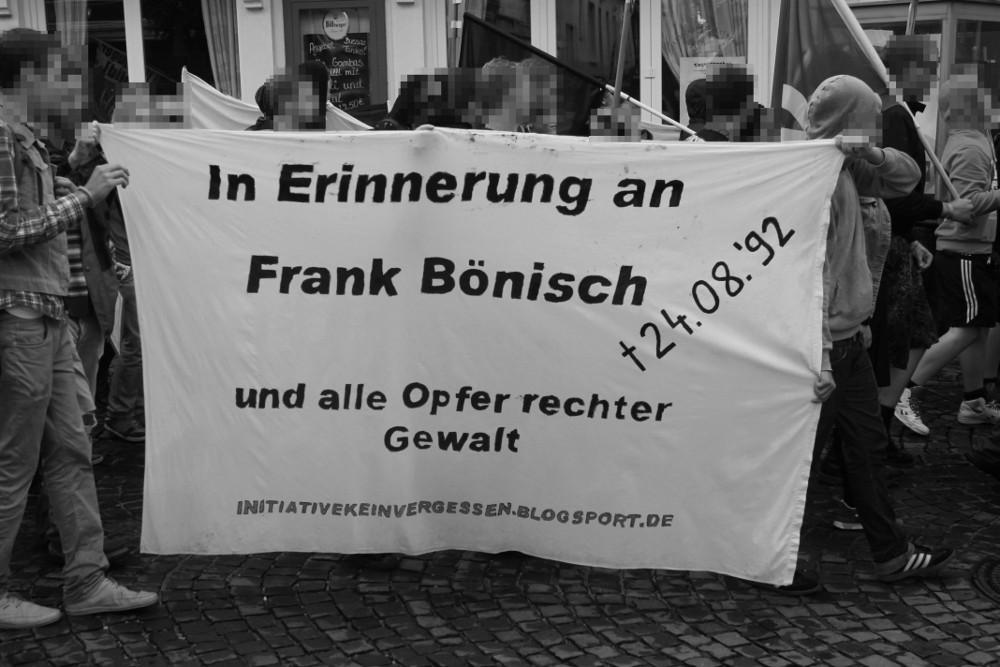 Frank Bönisch ERinnerung 2013