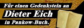 Gedenkstein für Dieter Eich